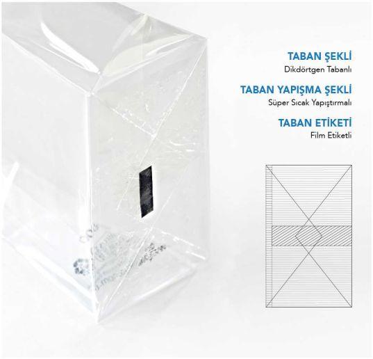 Avantaj 50 Orta Şeffaf Poşet-FİLM ETİKETLİ (500 Adetlik Kutu)