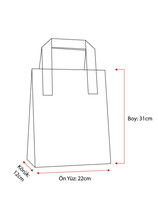 - Dıştan Kulplu Beyaz Kağıt Çanta No.2 (500 Adetlik Paket) (1)