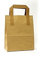 - Dıştan Kulplu Kraft Kağıt Çanta (50 Adetlik Kutu)
