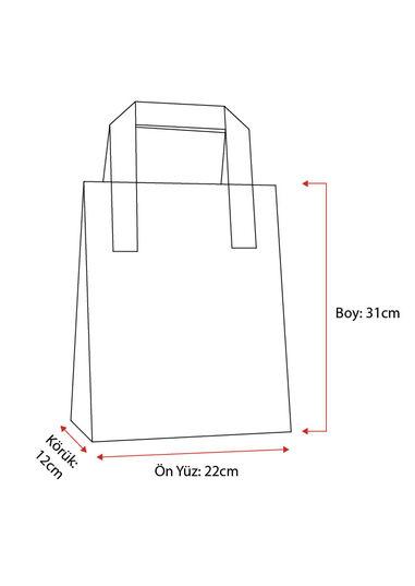 Dıştan Kulplu Kraft Kağıt Çanta No.2 (500 Adetlik Kutu)