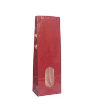 Kırmızı Baskılı Beyaz Kraft Büyük PET Poşet (40 Adetlik Kutu) - 8 - Thumbnail