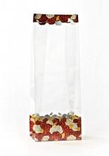 - Metalize Altın Gül Bahçesi Küçük Şeffaf Poşet (40 Adetlik Kutu)
