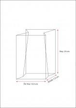 Sızdırmaz Özellikli Baskısız Poşet (1000 Adetlik Kutu) - Thumbnail