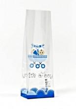 - Erkek Bebek Mini Şeffaf Poşet (500 Adetlik Kutu)