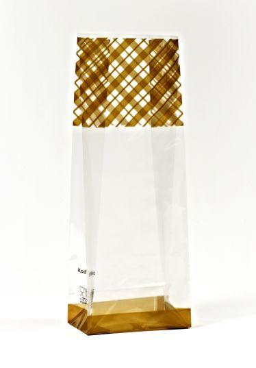 Altın Çizgi Küçük Şeffaf Poşet (500 Adetlik Kutu)