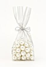 İnce Gümüş Küçük Şeffaf Poşet (500 Adetlik Kutu) - Thumbnail