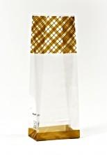 - Altın Çizgi Küçük Şeffaf Poşet (500 Adetlik Kutu)