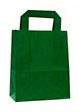 - Dıştan Kulplu Yeşil Kağıt Çanta (500 Adetlik Kutu)