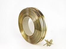 - Parlak Altın Kapama Klipsi (600 m′ lik Bobin)