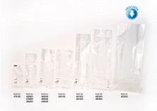 Baskısız Battal Boy Şeffaf Poşet-FİLM TABAN ETİKETLİ (1000 Adetlik Kutu) - Thumbnail