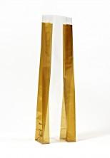 - Kalın Altın Orta Şeffaf Poşet (500 Adetlik Kutu)
