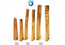 Kalın Altın Orta Şeffaf Poşet (500 Adetlik Kutu) - Thumbnail