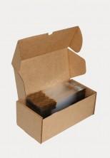 Altın Çizgi Küçük Şeffaf Poşet (100 Adetlik Kutu) - Thumbnail