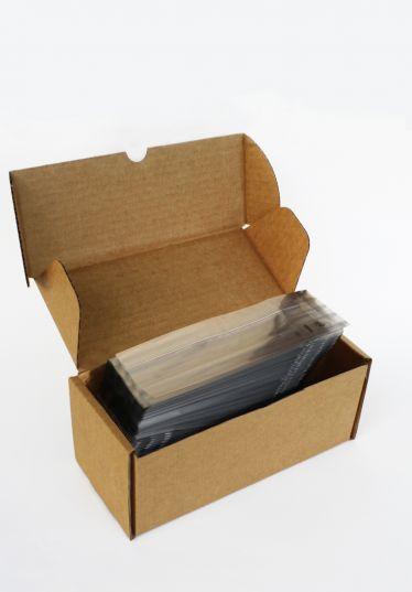 İnce Gümüş Küçük Şeffaf Poşet (100 Adetlik Kutu)