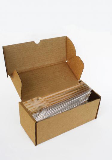 İnce Altın Küçük Şeffaf Poşet (100 Adetlik Kutu)
