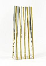 - Metalize İnce Altın Küçük Şeffaf Poşet (100 Adetlik Kutu)