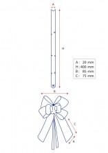 - Mat Gümüş Orta Boy Pratik Kurdele (50 Adetlik Paket) (1)