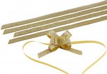 - Simli Altın Büyük Boy Pratik Kurdele (30 Adetlik Paket)