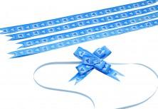 - Mavi Kalpler Küçük Boy Pratik Kurdele (100 Adetlik Paket)
