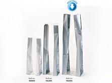 Kalın Gümüş Büyük Şeffaf Poşet ( 500 Adetlik Kutu ) - Thumbnail