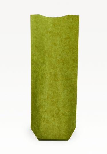 Yeşil Naturel Pencereli Büyük Şeffaf Poşet (100 Adetlik Kutu)
