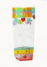 - Şeker Meyve Küçük Şeffaf Poşet (100 Adetlik Kutu)