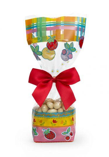 Şeker Meyve Küçük Şeffaf Poşet (100 Adetlik Kutu)