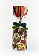 Noel Baba Balonda Şeffaf Poşet (100 Adetlik Kutu) - Thumbnail