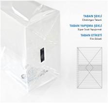 Avantaj + Mini Şeffaf Poşet-FİLM TABAN ETİKETLİ (500 Adetlik Kutu) - Thumbnail