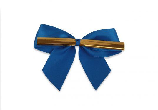 Mavi Büyük Boy Klipsli Kurdele (50 Adetlik Paket)