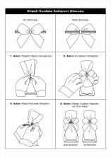 Pembe Küçük Boy Klipsli Kurdele (50 Adetlik Paket) - Thumbnail