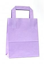 - Dıştan Kulplu Lila Kağıt Çanta (50 Adetlik Paket) (1)