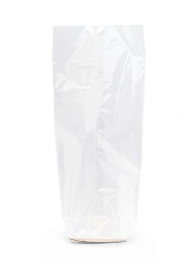 Ekstra Mini Daire Baskısız Şeffaf Poşet (100 Adetlik Kutu)