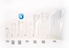 Baskısız Küçük Şeffaf Poşet-YEŞİL TABAN ETİKETLİ (500 Adetlik Kutu) - Thumbnail