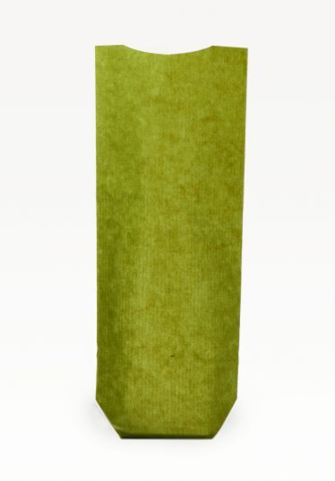 Yeşil Naturel Pencereli Orta Şeffaf Poşet (500 Adetlik Kutu)
